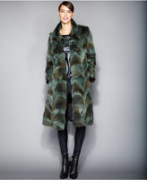 The Fur Vault Plus Size Coyote-Fur Coat