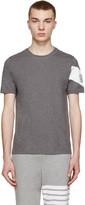 Moncler Gamme Bleu Grey Chevron T-Shirt