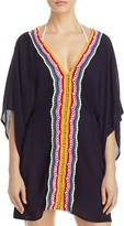 Nanette Lepore Off The Hook Caftan Swim Cover-Up