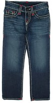 Boy's True Religion Brand Jeans Ricky Super T Straight Leg Jeans