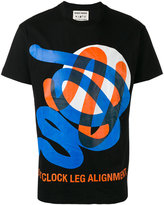 Henrik Vibskov abstract print T-shirt