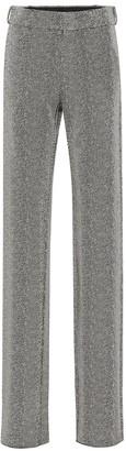 Vetements Herringbone high-rise pants