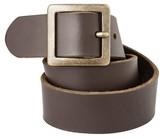 Mossimo Women's Genuine Leather Pilgrim Belt - Brown