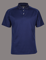 Autograph Slim Fit Supima® Cotton Textured Polo Shirt