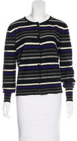 Sonia Rykiel Virgin Wool Striped Cardigan