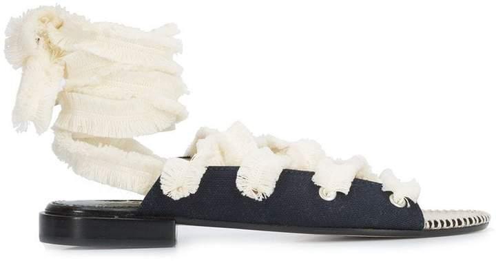 Altuzarra lace up espadrilles