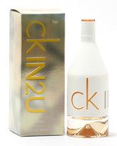 Calvin Klein IN2U for Her Eau de Toilette Spray, 3.4 oz./ 100 mL