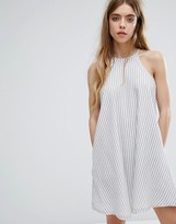 NATIVE YOUTH Stripe Swing Dress