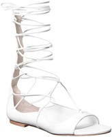 Max Studio Viper – Soft Nappa Gladiator Wrap Sandals