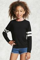 Forever 21 FOREVER 21+ Girls Striped Sweater (Kids)