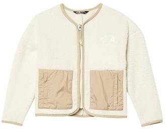 The North Face Kids Camplayer Fleece Cardigan (Little Kids/Big Kids) (Vintage White) Girl's Coat
