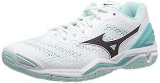 Mizuno Women's Wave Stealth V Handball Shoes,8 (42 EU)