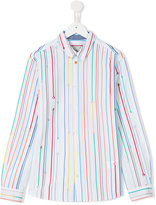 Paul Smith rainbow striped shirt - kids - Cotton - 14 yrs