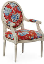 One Kings Lane Darcy Armchair - Red Chinoiserie