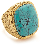 Aurelie Bidermann Miki Ring with Stone