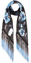 Rockins Flora Classic silk scarf