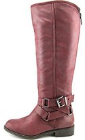Madden-Girl Women's Corporel Knee High Motorcycle Boots