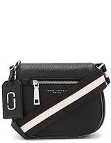 Marc Jacobs Gotham Small Nomad Shoulder Bag in Black.