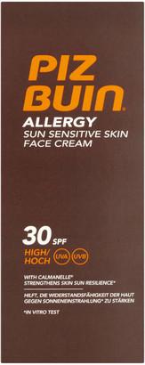 Piz Buin Allergy Sun Sensitive Skin Face Cream - High SPF30 50ml
