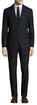 Slate & Stone Wool Stripe Notch Lapel Suit