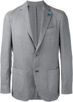 Lardini two-button blazer - men - Silk/Cashmere/Wool - 48