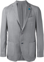 Lardini two-button blazer - men - Silk/Cashmere/Wool - 50