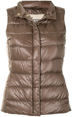 Herno Zipped Padded Gilet