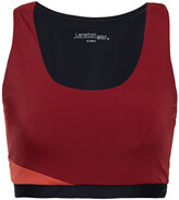 Thumbnail for your product : Lanston Color-block Stretch Sports Bra