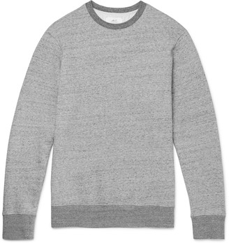 Mr P. Melange Loopback Cotton-Jersey Sweatshirt