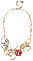 Betsey Johnson Buzz Off Flower Frontal Necklace