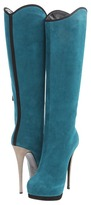 Giuseppe Zanotti I28022 (Blue) - Footwear