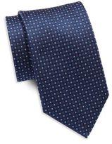 Saint Laurent Two Tone Silk Tie