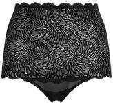 Wolford Tulle Lace High Waist Briefs