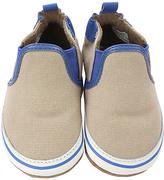 Robeez Khaki Liam Crib Shoes