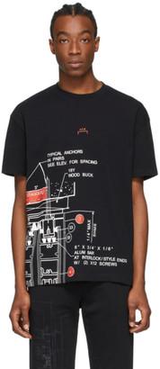 A-Cold-Wall* Black Blueprint T-Shirt