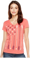 Cruel - Heathered Jersey Screen Print Women's T Shirt