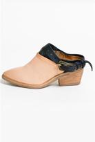 A.S. 98 Grano Nero Mule Shoes