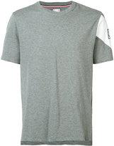 Moncler Gamme Bleu sleeve print T-shirt