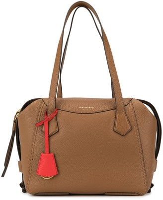Tory Burch contrast tag crossbody bag