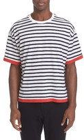 TOMORROWLAND Men's Stripe T-Shirt