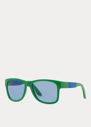 Ralph Lauren Color-Blocked Sunglasses