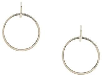 E.m. Double Hoop Earrings