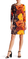 Julie Brown Goldie Printed Shift Dress