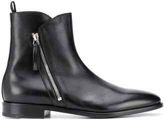 Premiata Side-Zip Ankle Boots