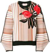 Roksanda embroidered patterned sweater
