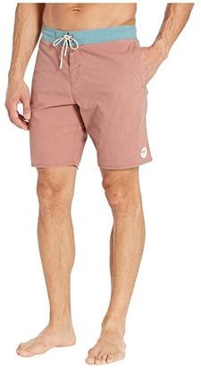O'Neill Faded Cruzer Boardshorts (Rust) Men's Swimwear