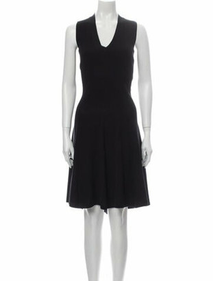 Hermes Virgin Wool Knee-Length Dress Wool