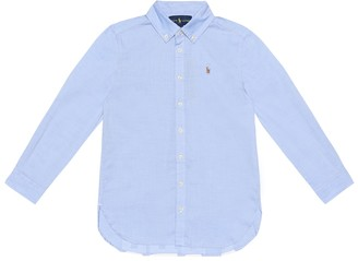 Polo Ralph Lauren Kids Cotton shirt