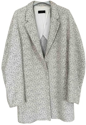 Joseph Grey Cotton Coat for Women