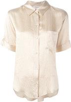 Masscob shortsleeved shirt - women - Silk - M